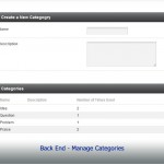 BackEnd - Manage Feedback Categories