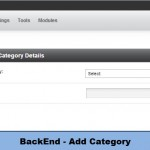 BackEnd - Add Category