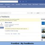 FrontEnd - My FeedBacks