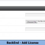 BackEnd - Add License