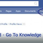 Front End Go To Knowledge Base Tab