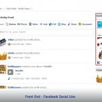 Front End - Facebook Social Like