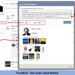 FrontEnd - Get Code Liked Button