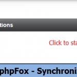 BackEnd - phpFox - Synchronize Account