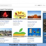 FrontEnd - Closed Campaigns