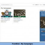 FrontEnd - My Campaigns