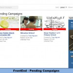 FrontEnd - Pending Campaigns