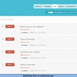 MailChimp lists on mailchimp.com