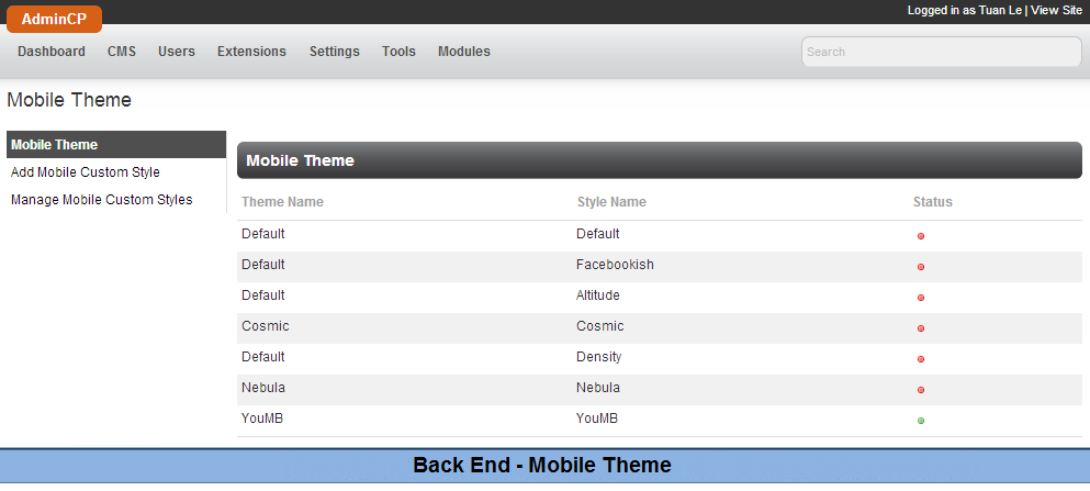 V3] – Mobile View | YouNetCo - phpFox Apps, Themes & Development