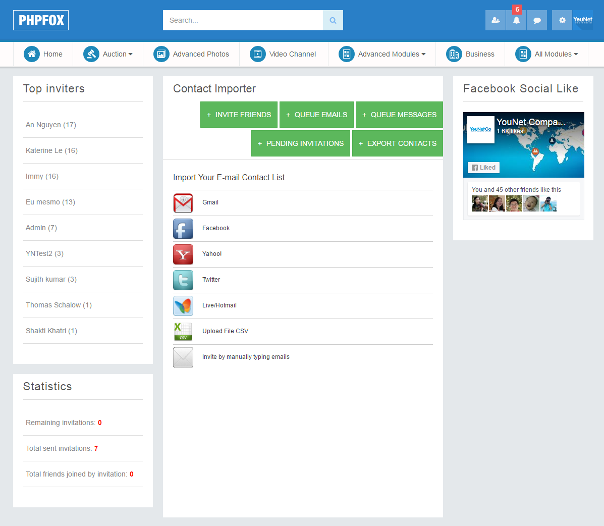 Japan Importers Contact Emails Mail: YouNetCo - PhpFox Apps, Themes