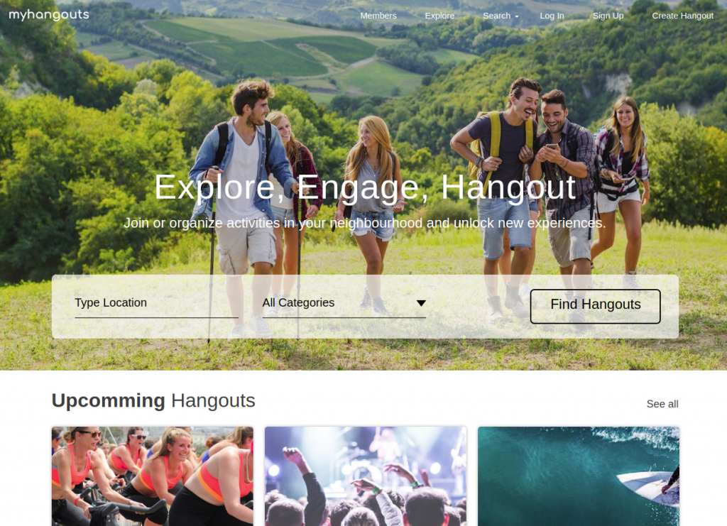 RecentWorks - My Hangouts